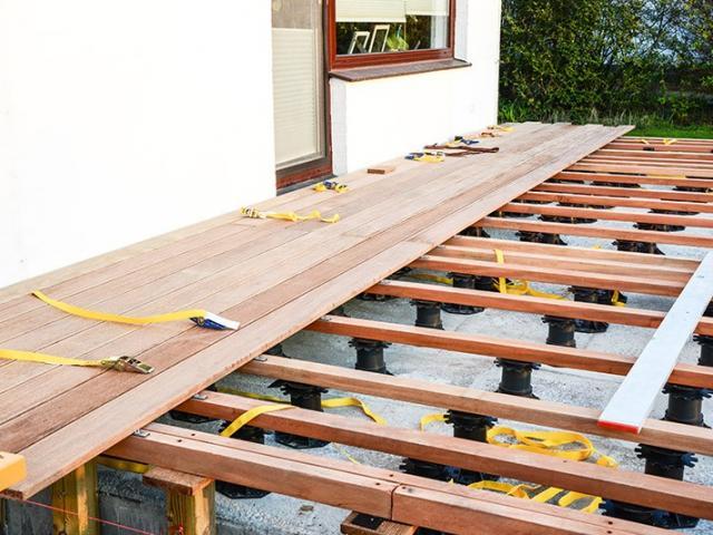 Aménagement extérieur terrasse en bois
